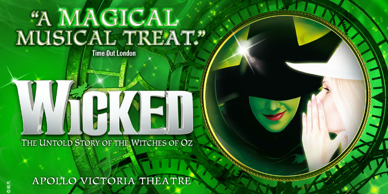 wicked the musical theatre tickets and hotel packages
