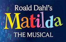 Matilda The Musical theatre breaks